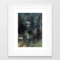 dark souls Framed Art Prints featuring Dark Souls by Lil'h