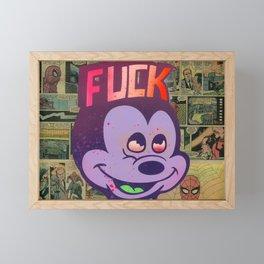 Mick F!ck Framed Mini Art Print