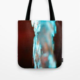 WATER FOUNTAIN STREAMS UP WITH LIGHT-7003 Tote Bag