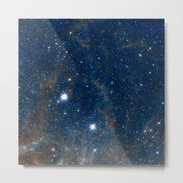 Deep Blue Space Metal Print