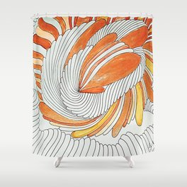 OTOÑO 12 Shower Curtain