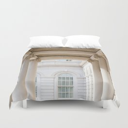 Down at City Hall Duvet Cover