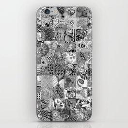 Doodling Together #3 iPhone Skin