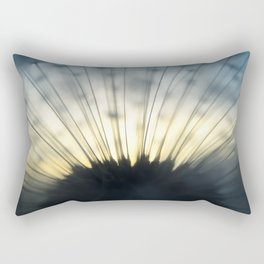 Dandelion & Sun II. Rectangular Pillow