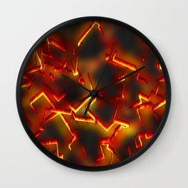 Burnings Wall Clock