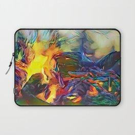 Groovy Fire Laptop Sleeve