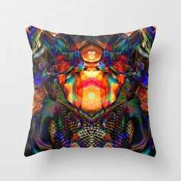 Spidy Chic Throw Pillow