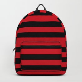 Albania flag stripes Backpack