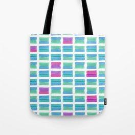 Colored Bubble Gums Pattern Tote Bag