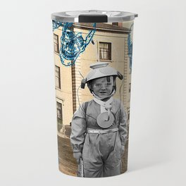 haunted child Travel Mug
