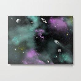 Deeep Space Metal Print