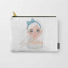 Cute Boho Girl  Carry-All Pouch