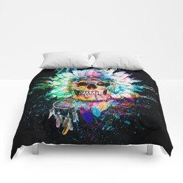 SKULL WILD S. Comforters