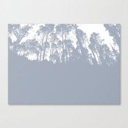 gray treeline Canvas Print