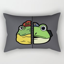 Old & New Slippy Toad Rectangular Pillow