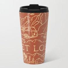 Let's Get Lost Metal Travel Mug