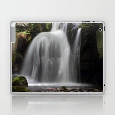 Waterfall at Lumsdale Mill Laptop & iPad Skin