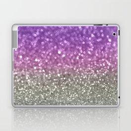 Lilac and Gray Laptop & iPad Skin