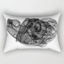 DELAUNAY HEART w/b Rectangular Pillow