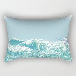 Sea Fever Rectangular Pillow