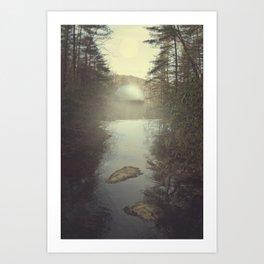 1, 2, _ Art Print