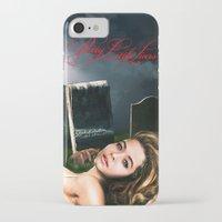 pretty little liars iPhone & iPod Cases featuring Pretty Little Liars Fantasy Ad by Erwan Khatib