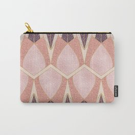 Pink Deco Shine Carry-All Pouch