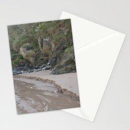 Cornwall Beach Photo 1839 Quartz Rock Wild Garden with Stream Stationery Cards