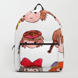 Studio Ghibli Girls Backpack