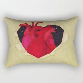 The Hidden Heart Rectangular Pillow