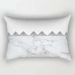 Adoring Grey Rectangular Pillow