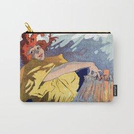 Kerosene oil  by Jules Cheret Carry-All Pouch