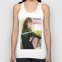 valentina Tank Tops featuring VALENTINA by Rayane Guedes XII