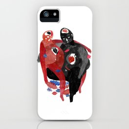 lovers-Help a long distance relationship !!!!!!!!! iPhone Case