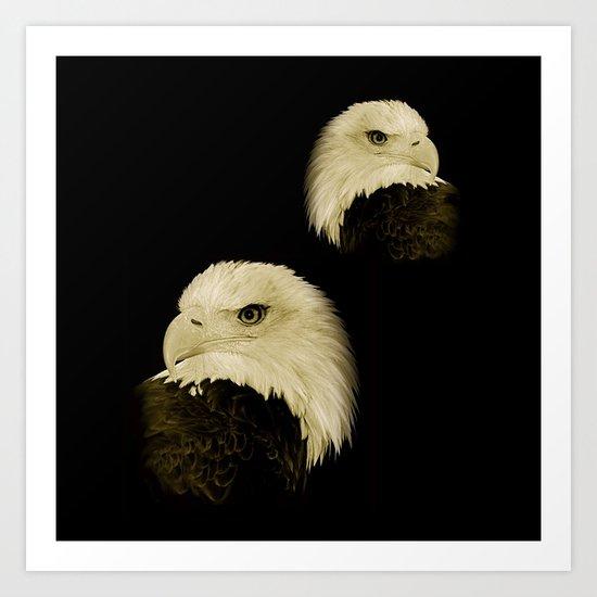 American Eagles Art Print
