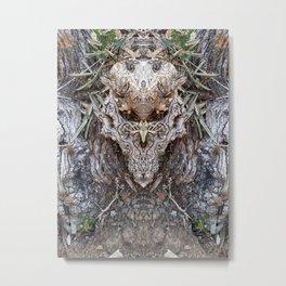 Goat Tree Metal Print