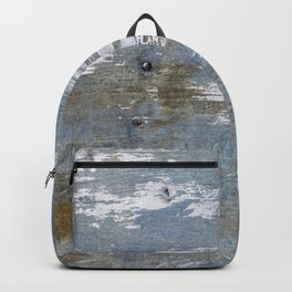 Abstract Rusty Grunge Metal Backpack