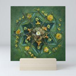 March Mandala II  Mini Art Print