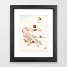Super Mario Bros. No.1 Framed Art Print