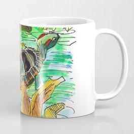 Turtle Perch Coffee Mug