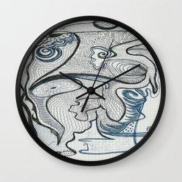 Chronique 972 A Wall Clock