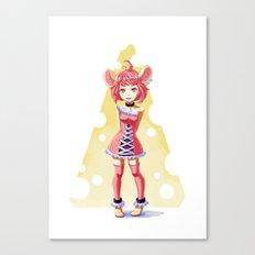 Little Mouse Canvas Print