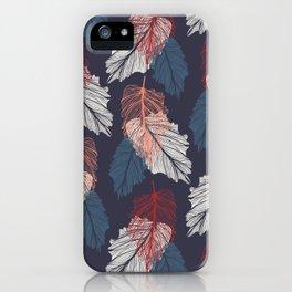 Shedding - midnight iPhone Case