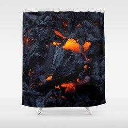 Kilauea Lava Shower Curtain