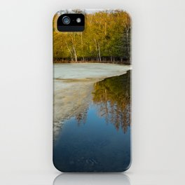Frozen Lake iPhone Case