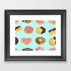 Donut Shoppe Framed Art Print