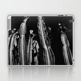 Cactus - black and white Laptop & iPad Skin