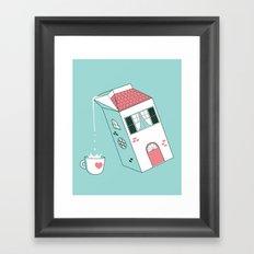 Housepour Framed Art Print