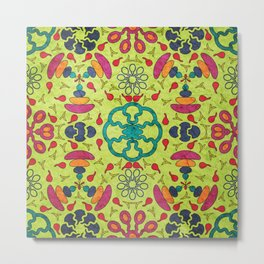 Colorful Mandala #05 Metal Print