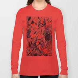 Jungle Leaves Long Sleeve T-shirt